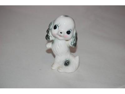 Vintage porselenshund