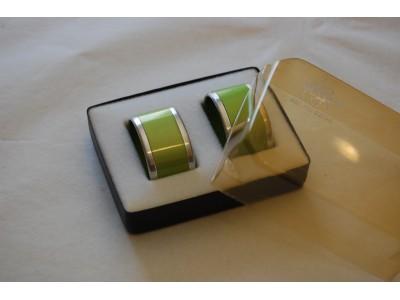 Emalox serviettringer grønne