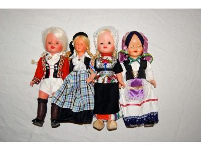 Vintage dukker